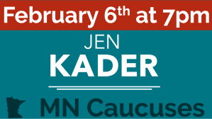 Caucus February 6th at 7pm